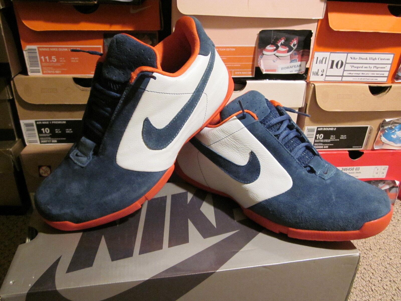 Nike Zoom Air URL SB Size 10 Broncos white apollo blue deep orange Skateboarding