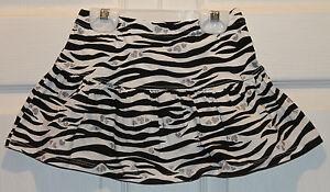 Nwt Jumping Beans Zebra Skooter Skirt Skort Animal Print Sz 18 Months Baby & Toddler Clothing