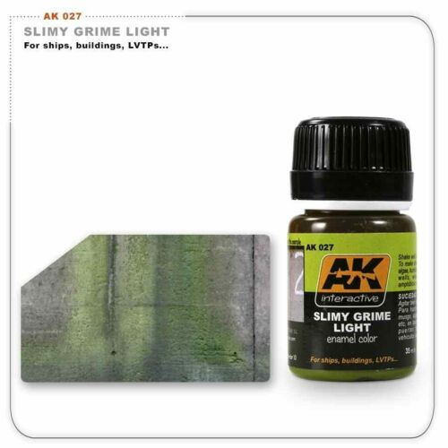 AK00027   AK Interactive Slimy Grime light     model making enamel wash
