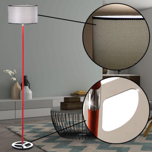 Design LED Steh Lampe Stoff Lese Leuchte Decken Fluter dimmbar RGB Fernbedienung