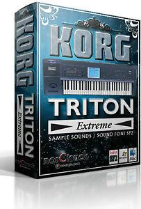 KORG-TRITON-EXTREME-Samples-Sounds-SoundFont-SF2-vst-store-norCtrack-tritone