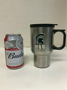 NCAA Michigan State Spartans Steel Travel Mug