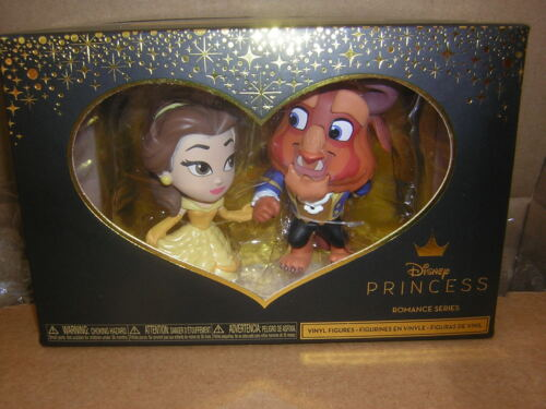 Funko  Belle /& Beast  Disney Princesse mini figurines  la belle et la bête