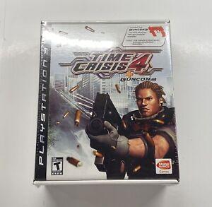 Playstation 3 Time Crisis 4 + Guncon 3 Big Box Bundle BRAND NEW SEALED!! PS3 HTF