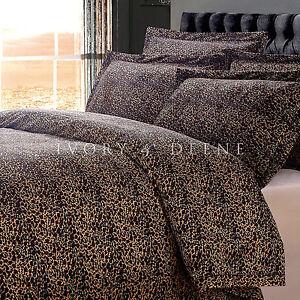 NEW-LUXURY-LEOPARD-FUR-KING-Sz-Doona-Duvet-Quilt-Cover-Animal-Print-Bedding-Set