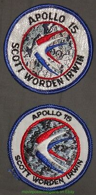 Historical Memorabilia Collectibles Hearty Apollo 15 Space Program Patch 3 Inch 2 Near Mint Vintage 1970's &1980's Examples Meticulous Dyeing Processes