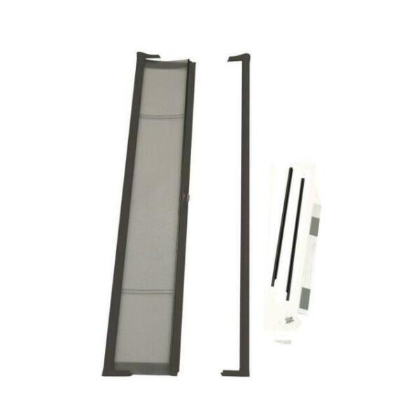 Brisa Black Retractable Screen Door 80 Single