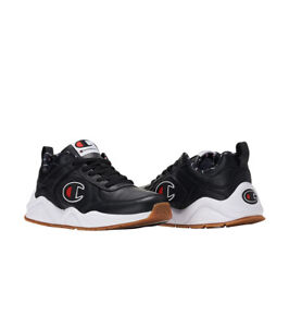 2ec3c767a CHAMPION 93 EIGHTEEN BIG C Black Men s Sneaker CM100101M NEW ...