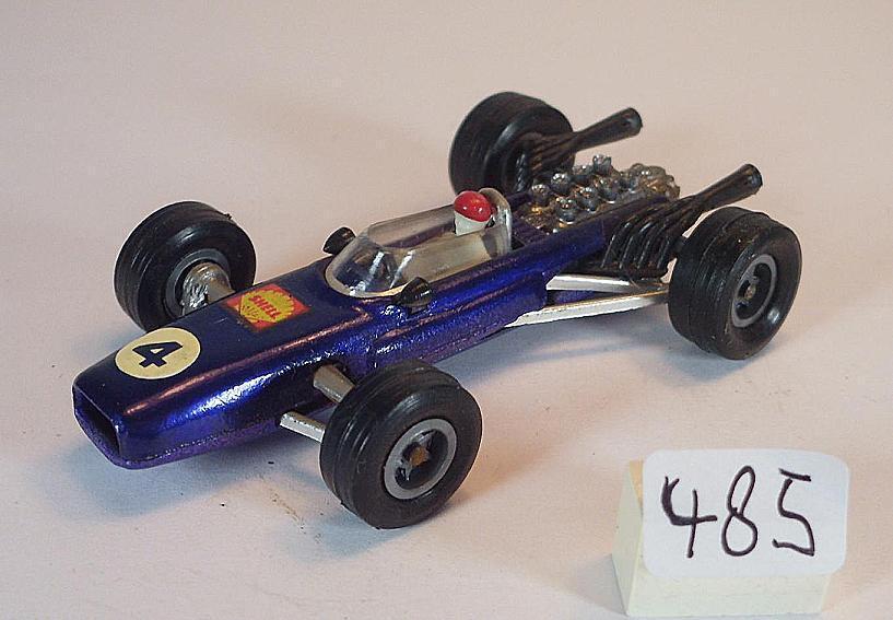 MAJORETTE 1/55 n. 226 Brabham Repco f1 RACER BLU METALLIZZATO numero 4 #485