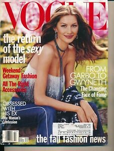 VOGUE-January-1999-Fashion-Magazine-AMBER-VALLETTA-Cover-by-STEVEN-MEISEL