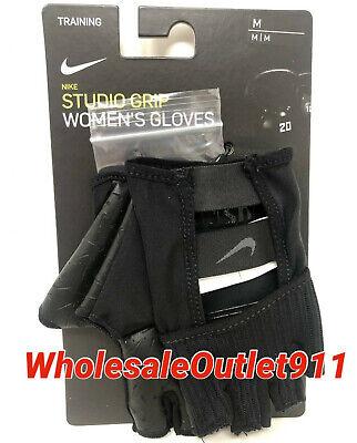 Gloves MEDIUM Black Workout Gym #71