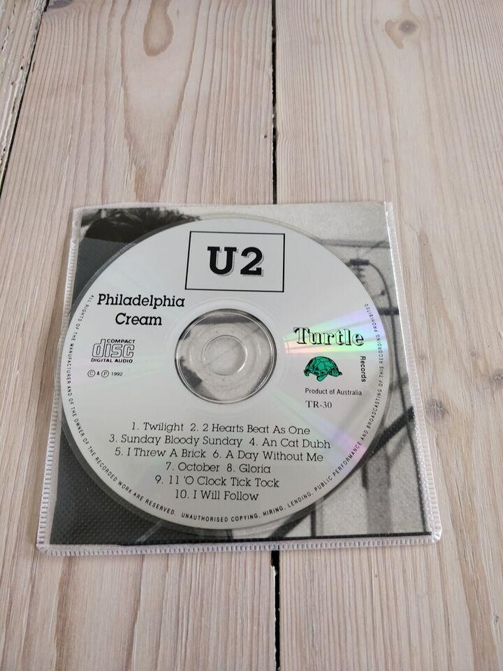 U2: Philadelphia Cream, rock