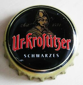 UR-KROSTITZER - SCHWARZES 2016 - KRONKORKEN / BOTTLE CAP / CROWN CAP - Deutschland - UR-KROSTITZER - SCHWARZES 2016 - KRONKORKEN / BOTTLE CAP / CROWN CAP - Deutschland