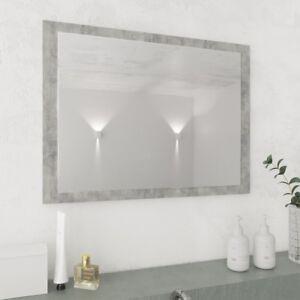 Dettagli su Specchio 45 x 60 cm da Bagno Soggiorno Salotto Camera con  Cornice in vari colori