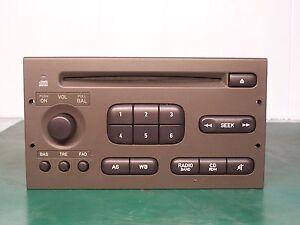1998 2002 saab 9 3 oem factory cd player radio stereo. Black Bedroom Furniture Sets. Home Design Ideas
