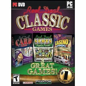Details about Reel Deal Classic Games PC Games Windows 10 8 7 XP casino  craps cribbage gin NEW