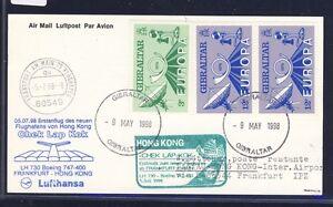 52277-LH-FF-Frankfurt-Hongkong-5-7-98-Karte-ab-Gibraltar-RR-CEPT