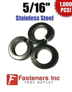 Stainless Steel Lock Washer #8 Qty 1000