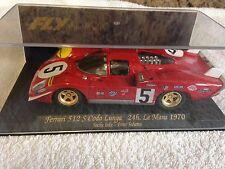 Nuevo Raro Fly Ferrari 512S C27 Le Mans 1970 Jacky pela Peter SCHETTY