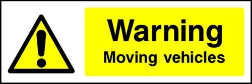 Warning Vehicles Sign V6GARA0003 Garage Workshop Safety