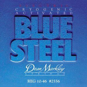 3-SETS-DEAN-MARKLEY-BLUE-STEEL-ELECTRIC-STRINGS-REGULAR-10-46-2556