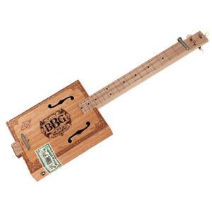 new hal leonard blues box 3 string fretless cigar box slide guitar kit 888680631703 ebay. Black Bedroom Furniture Sets. Home Design Ideas
