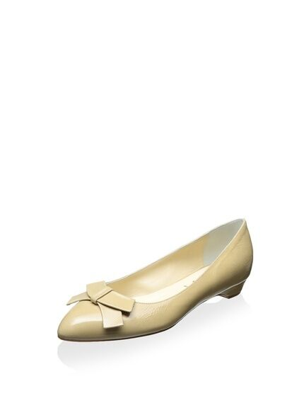 NIB Butter Persian Bow Ballet Flat, Dimensione 7M US, MSRP  335