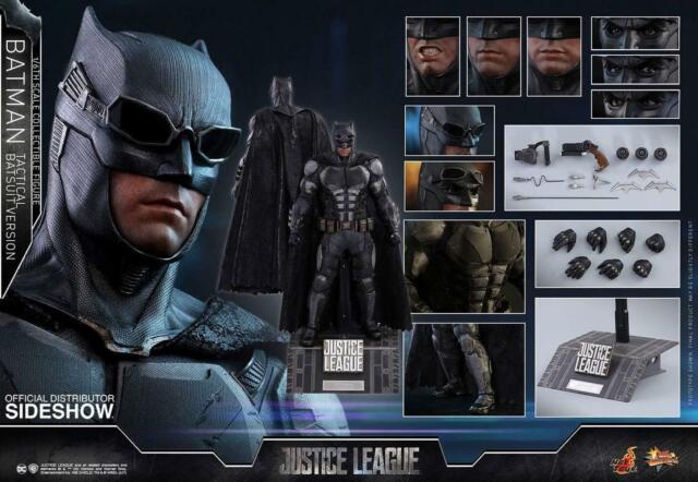 Hot Toys Dc BATMAN TACTICAL BATSUIT 1/6 scale Figure MMS 432 Justice League NEW