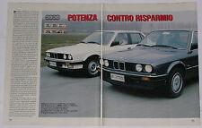 Test Drive Prova 1987 BMW 324d / 320i SERIE 3 E30