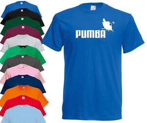 PUMBA-Drole-Nerd-Geek-T-Shirt-T-shirt-T-shirt-drole-cadeau-Disney-le-roi-lion