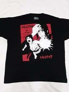 Naruto-Shippuden-Sasuke-Ripple-Junction-Mens-T-Shirt-Black-XLarge-2002-2007
