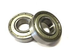 2 pieces Ball Bearing 6001Rs 28mm x 12mm x 8mm Scooter B9J1