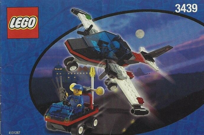 Lego Town CLASSIC Town Airport 3439 Spy Runner  New Sealed
