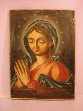 Altes Ölgemälde Madonna 18 Jahrhundert Barock