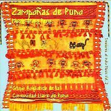 Zampanos de Puno von Comunidad Llave de Puno, Zampona... | CD | Zustand sehr gut