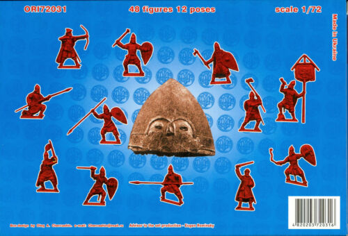 Orion Models 1//72 RUS FOOT KNIGHTS 11th-13th Century Figure Set