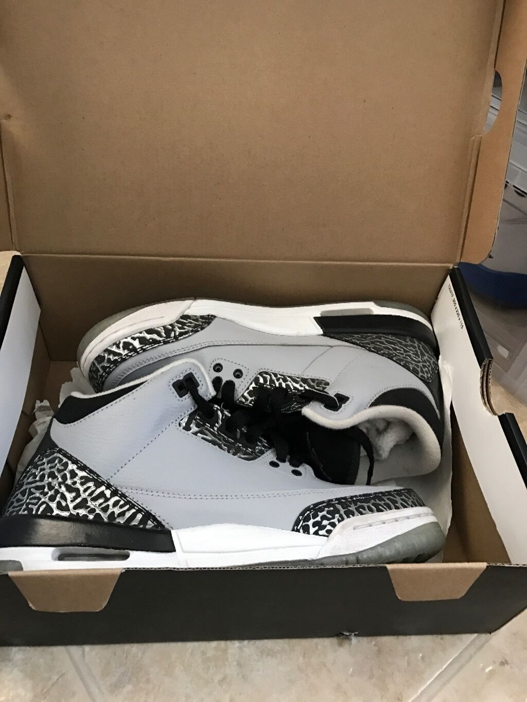 2018 Nike Air Jordan 3 III Retro Wolf Grey Comfortable The latest discount shoes for men and women