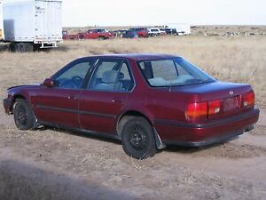 92 1992 honda accord 4 door 4 cyl automatic complete for Honda accord shuts off while driving