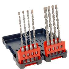nuovo Bosch SDS Plus Resistente Scatola Set Punte Trapano 8 Pezzi Ogni