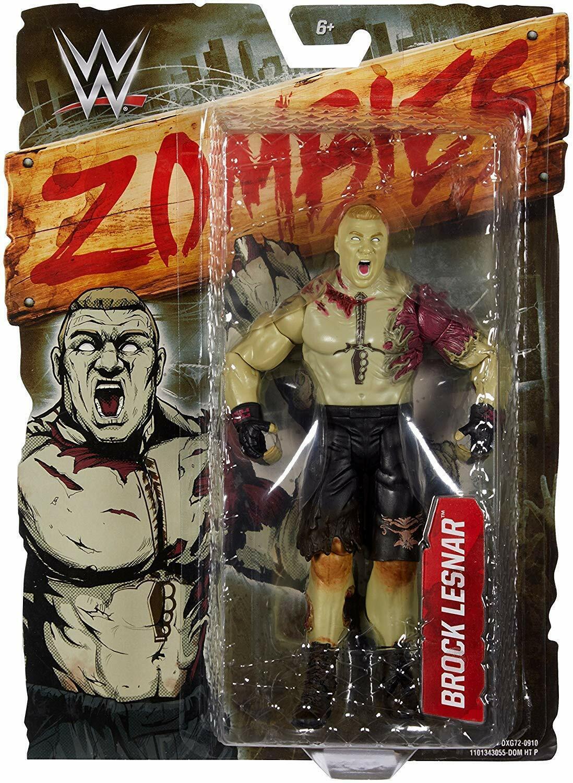 WWE Wrestling Brock Lesnar Zombies Action Figure Wrestling Figure