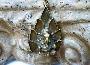 Ganesha Anhänger Elefantengott Amulett Gott der Weisheit Glück Erfolg Hindu