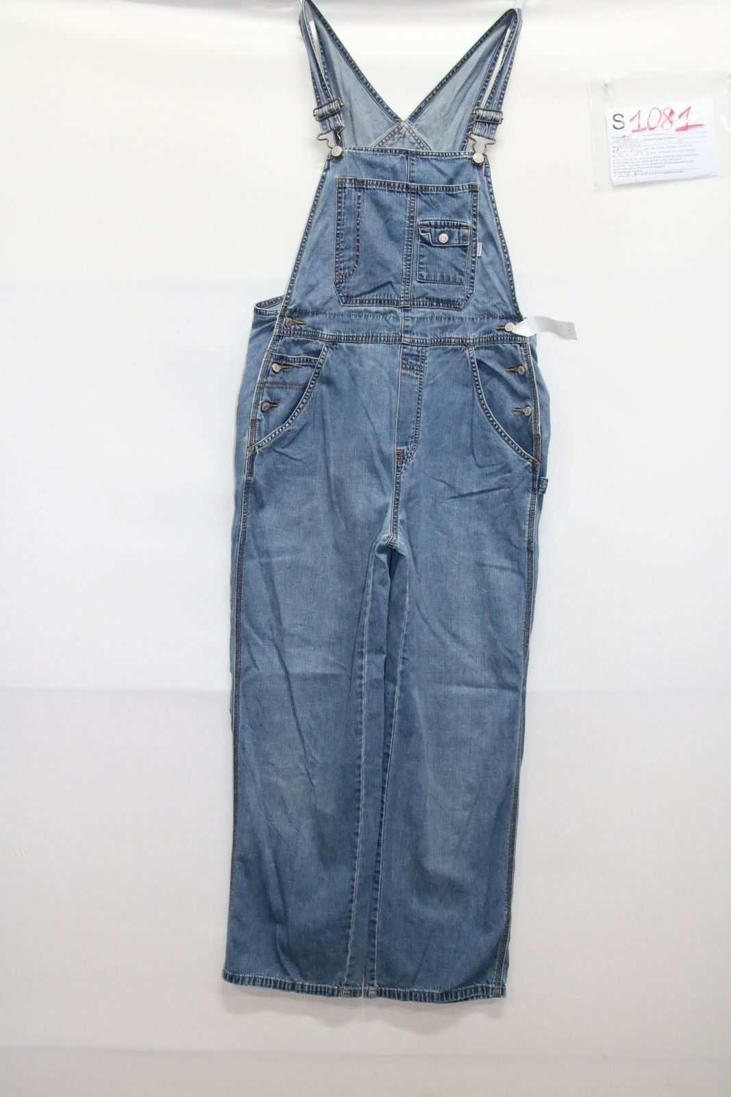 Dungarees OLD NAVY (Cod. S1081) Size M jeans used vintage STREETWEAR woman