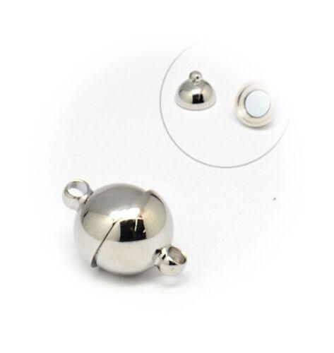 18x12 mm ORIGINALFARBE TOP ARTIKEL //151 1 EDELSTAHL MAGNET VERSCHLUSS POLIERT