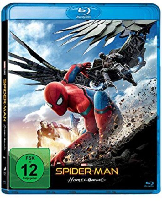 Spider-Man Homecoming Blu-ray NEU OVP Spiderman