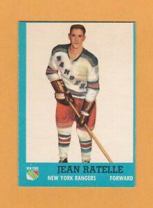1962-63-NHL-Topps-58-Jean-Ratelle-NrMt