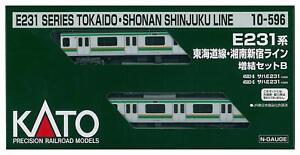 Kato-10-596-JR-Series-E231-Tokaido-Shonan-Shinjuku-Line-2-Cars-Add-on-N-scale