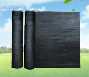 65 Uv Black Shade Cloth Sunshade Fabric Greenhouse Shadecloth For Width 10ft Ebay