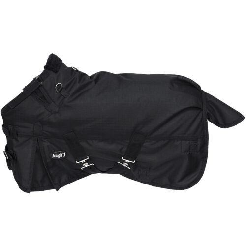 Tough 1 1200D Miniature Horse Waterproof Poly Snuggit Turnout Blanket Black U-NS