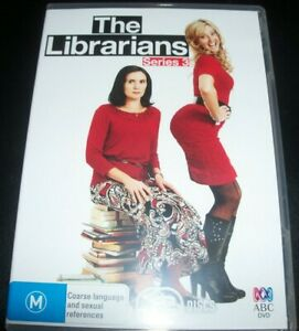The-Librarians-Season-Series-3-Australia-Region-4-ABC-DVD-Like-New