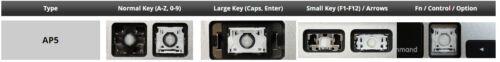 hinge for Apple MacBook Pro Retina Air A1398 A1425 A1502 A1369 A1466 SINGLE KEY
